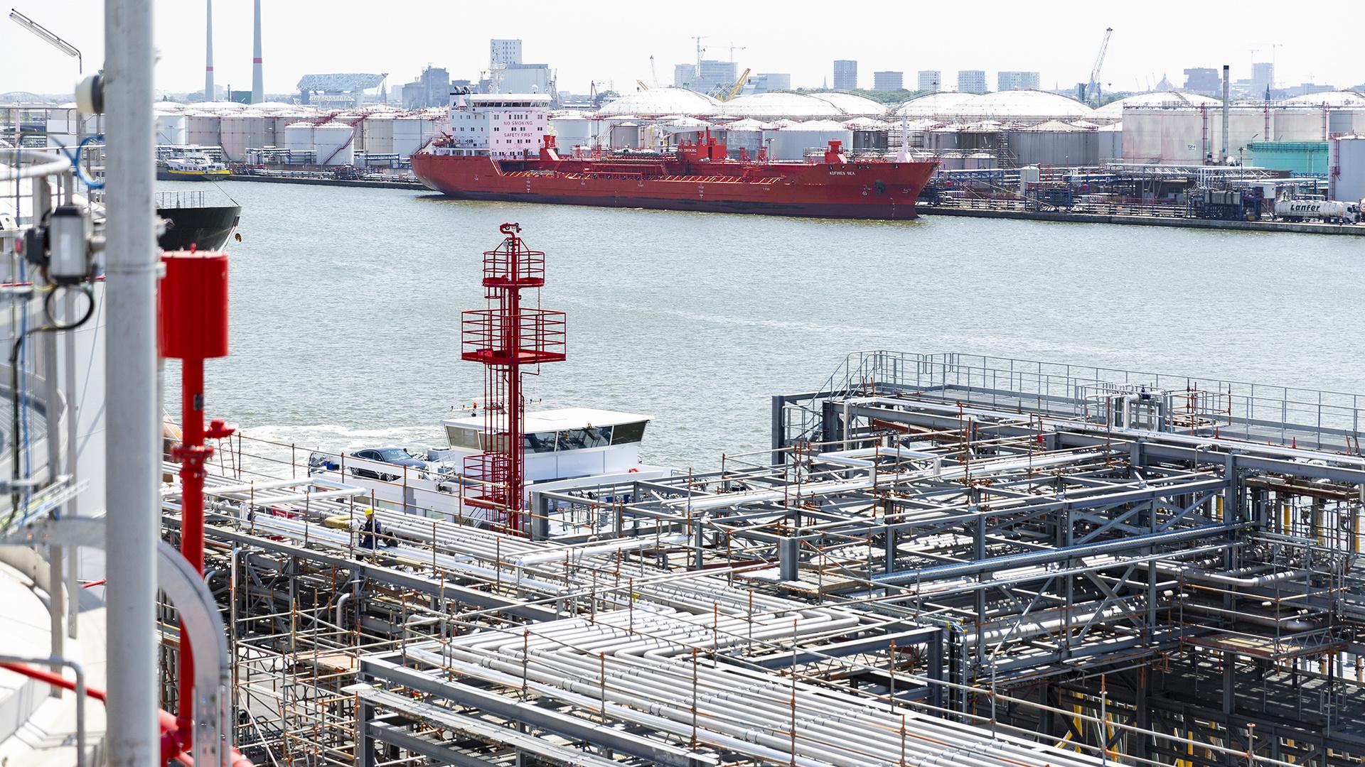 Uitbreiding Noord Natie Terminal met een volledig brandveiligheidsconcept 12