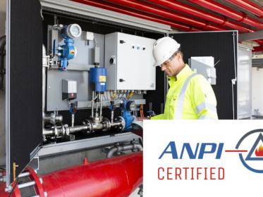FoamTronic gecertificeerd door ANPI!